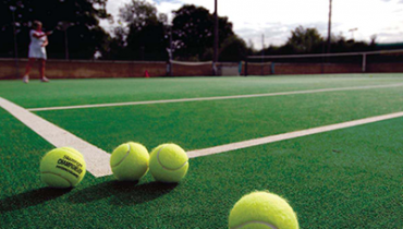 artificial turf tennis court